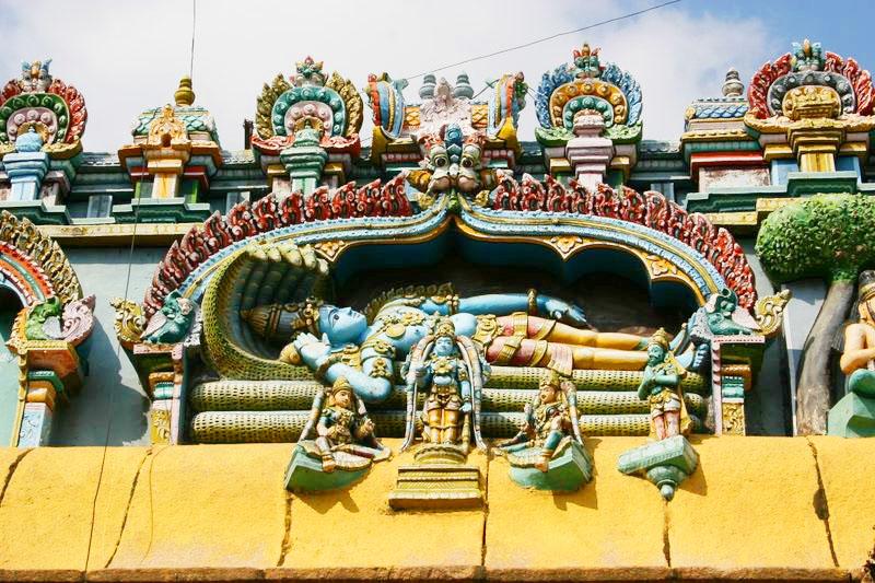 Lord Vishnu, Sri Ranganathaaswami Temple, Tiruchirapalli (Trichy)