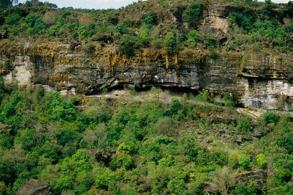 Caves near Holar
