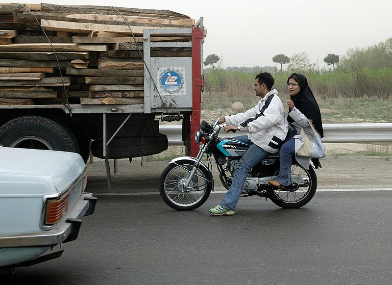 Travelling south of Teheran