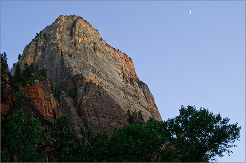 Moonrise Over Great White Throne