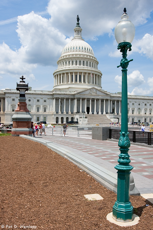 Capitol lights
