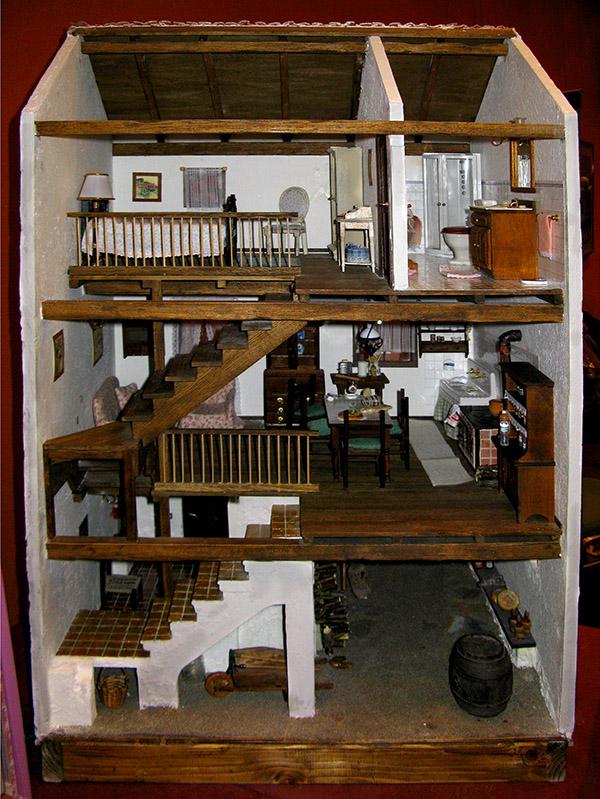 La vecchia casa<br/>Artista: Oretta Corbella<br/><br/> .. M8197