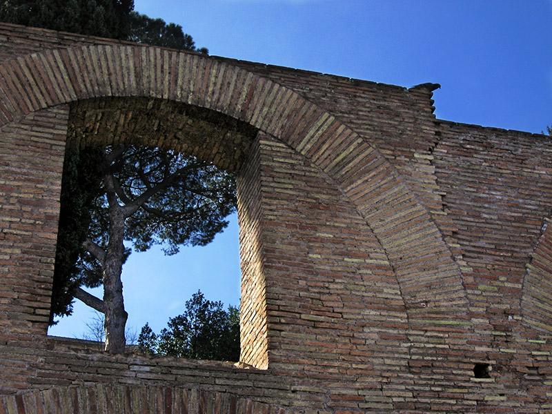 Foro Romano, arches .. 3497