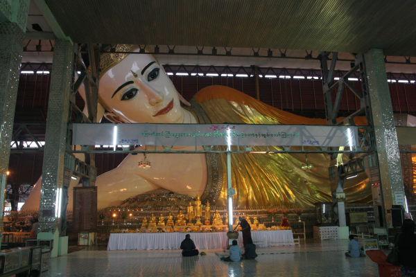 Nga Htat Gyee (Reclining Buddha)