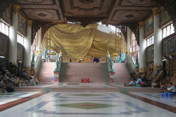 Gateway to Shwethalyaung (Reclining Buddha)