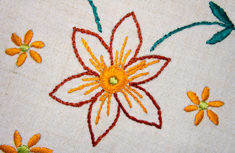 16 March: Embroidery