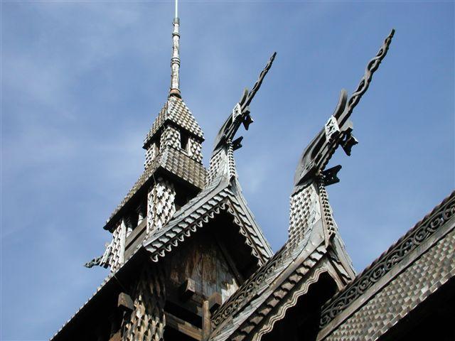 Eglise en bois debout  (Bergen)