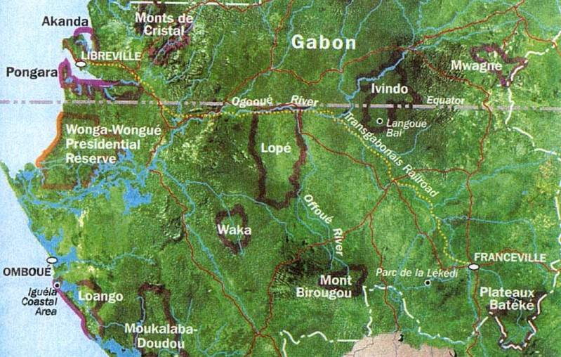Gabon map1