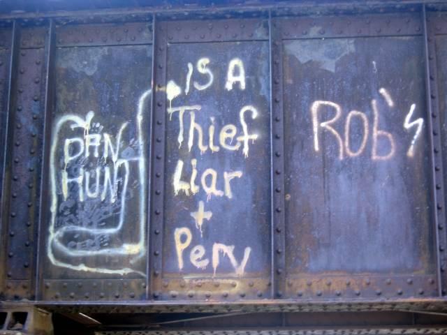 more bridge grafitti