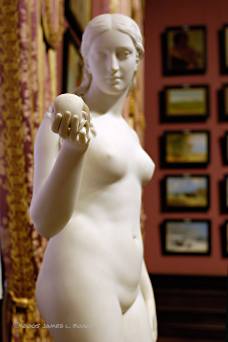 Eve Tempted (detail)