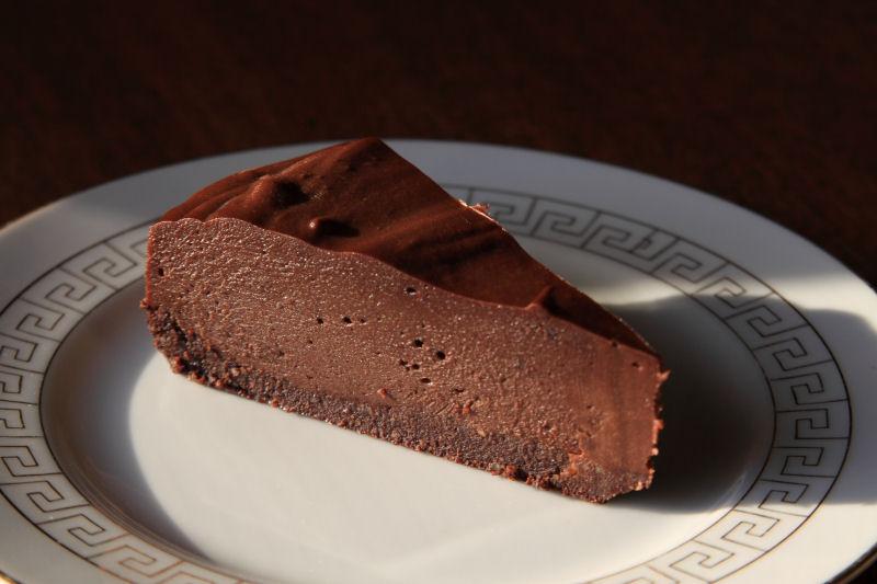 Raw Vegan Chocolate Cheese Cake