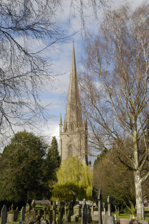 Ross-on-Wye - one of the most rebuilt steeples in UK?