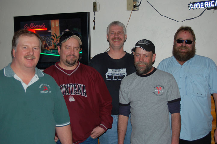 Frontier #1 - Tournament Champions Rich Robinson, Shaye McMillian, Francis Panion, Scott Williams, Jeff Pickett