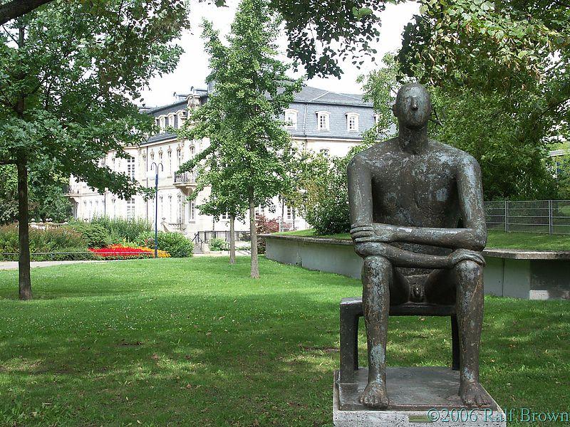 Statue in Büsingpark