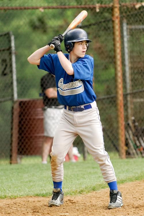 Jesse at bat