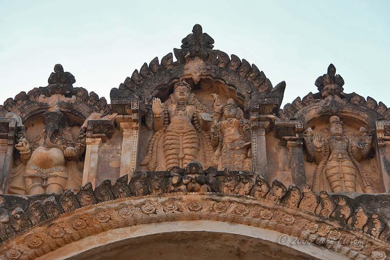 Brihadeshra Temple Entrance Detail