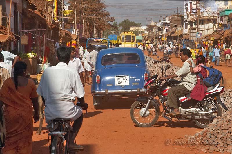 Typical Village Traffic