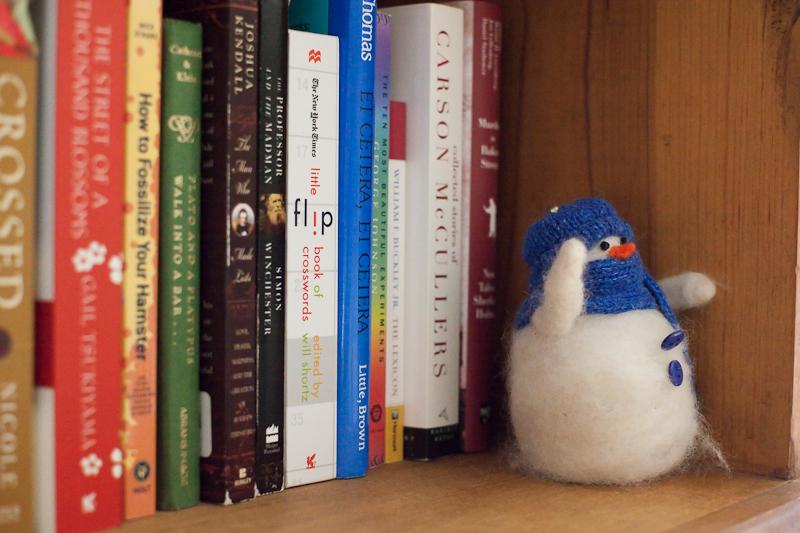 Little Snowman on the Shelf