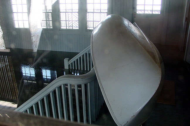 Boat in Boathouse