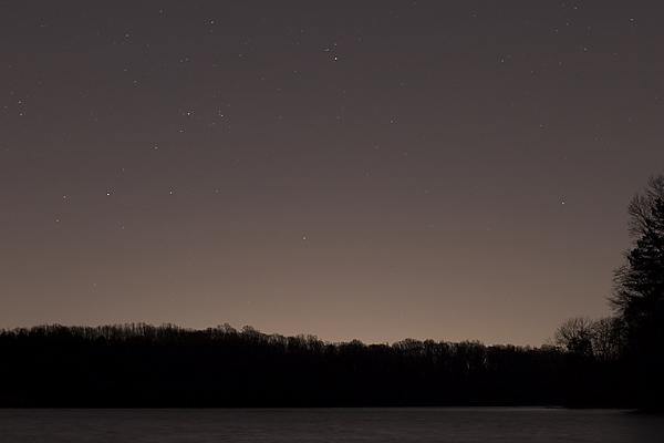 Reservoir under the stars*<br>by Tristan Panek