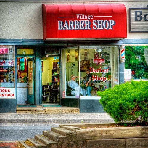 The Barber on Main Street