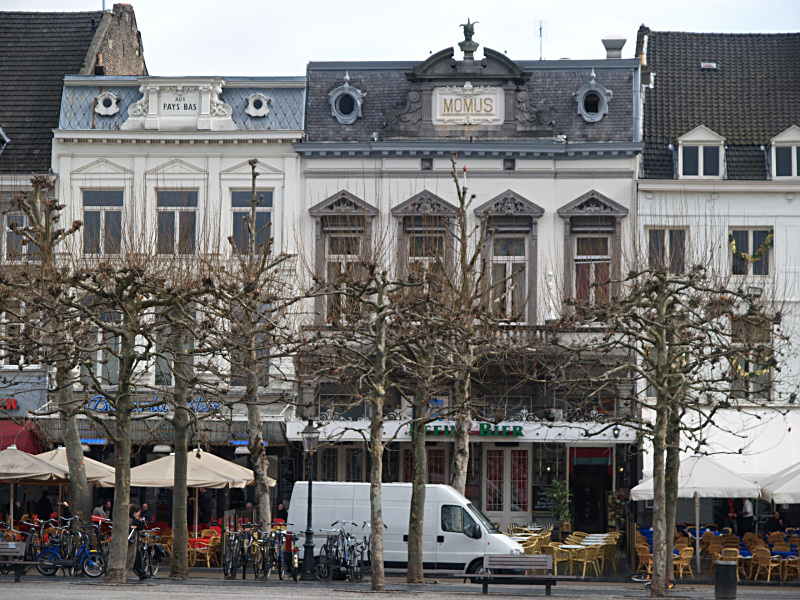 Cafés on the Vrijthof