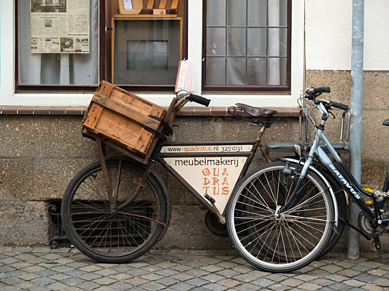 Bikes, old and new
