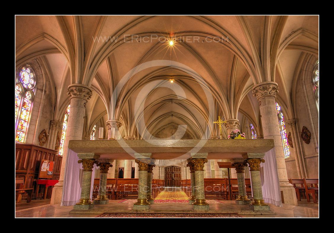 Eglise de Biville interieur 2