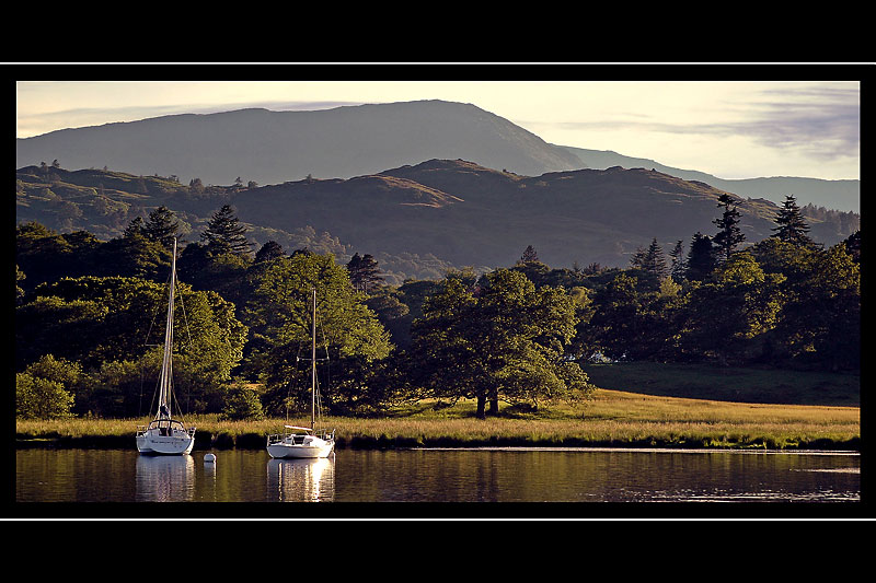 Yachts by Ambleside, Cumbria
