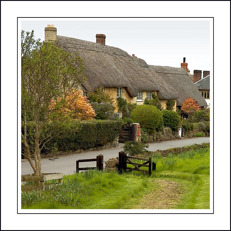 Cottages, East Coker, Somerset