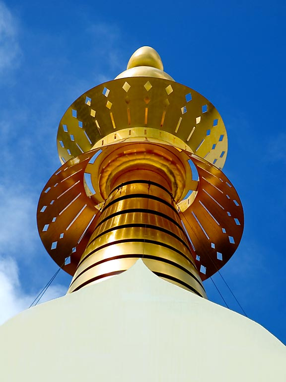 Top of the Enlightenment Stupa, Benalmadena