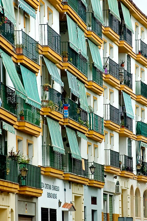 Apartments and blinds, Marbella