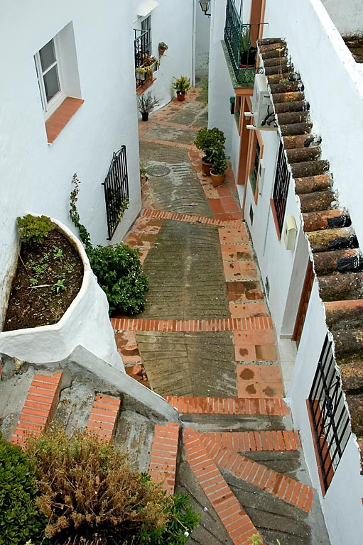 Street and steps, Ochen