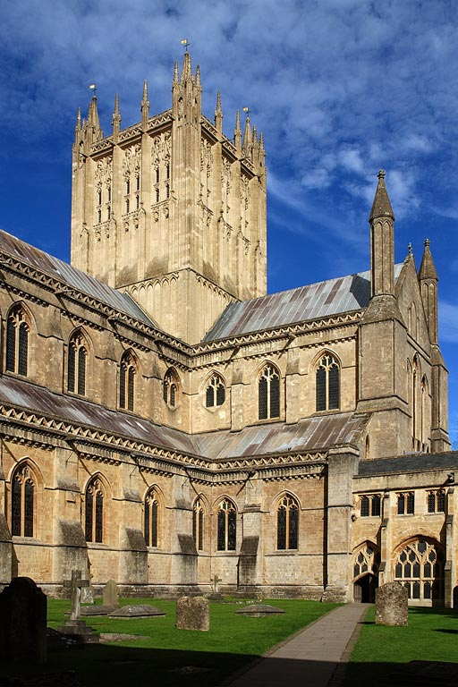 Tower again, Wells Cathedral (7829)