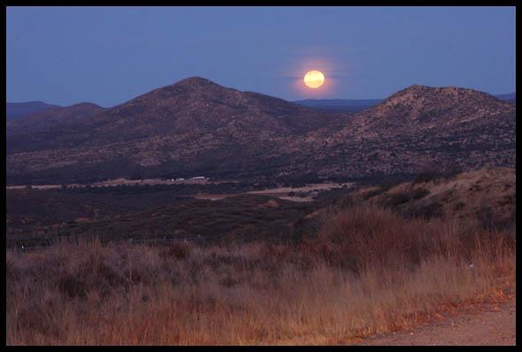 Yavapai Moonset