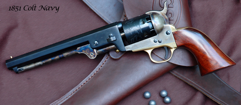 1851 Colt Navy - .36 Caliber