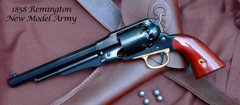 1858 Remington New Model Army - .44 Caliber