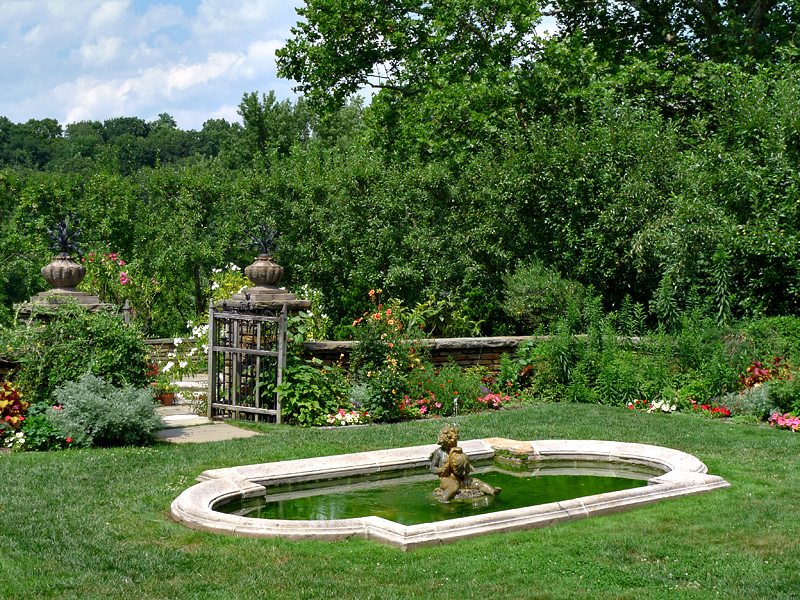 Dumbarton Oaks, Fountain Terrace