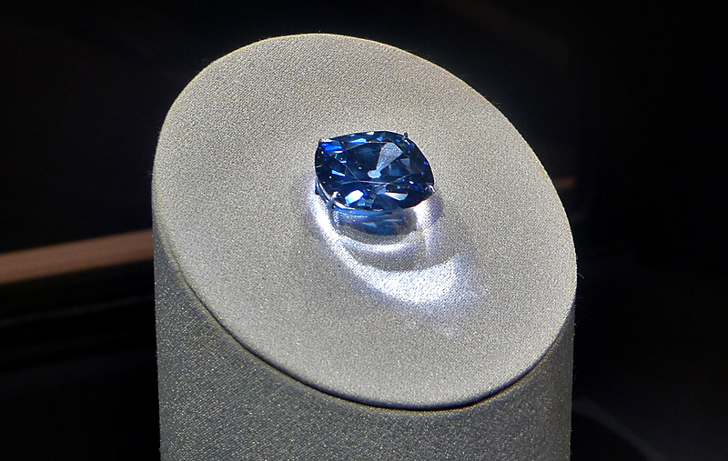 Hope Diamond, Natural History Museum