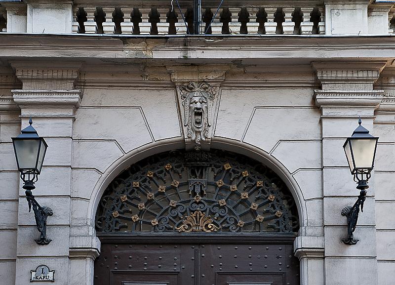 Elegant entry, municipal offices