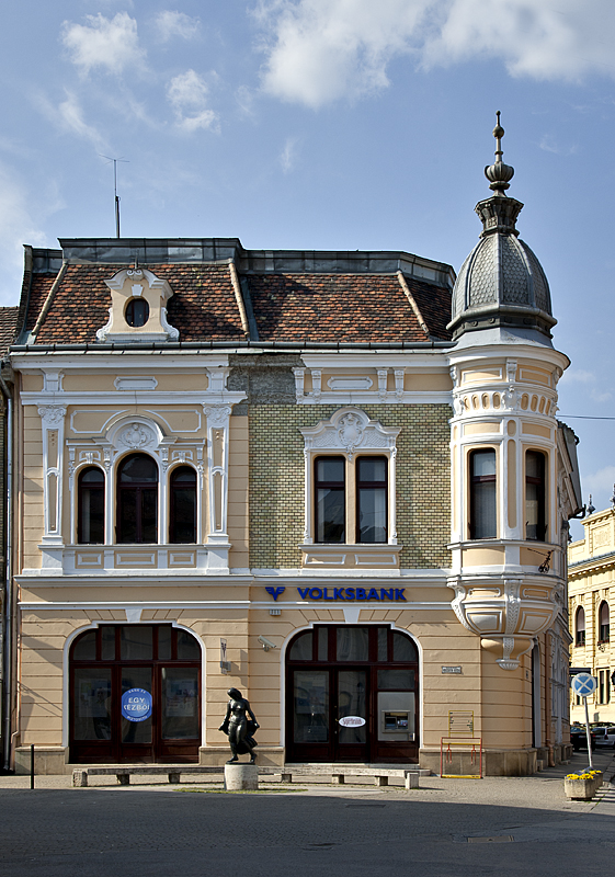 Charming bank building