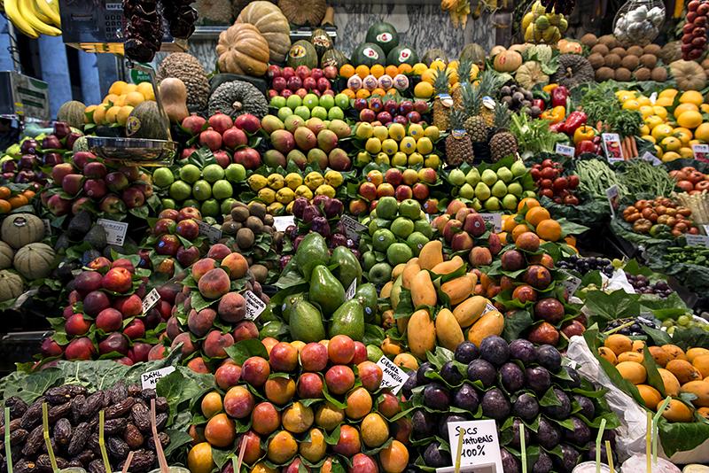 La Boqueria (1), artistry in fruit