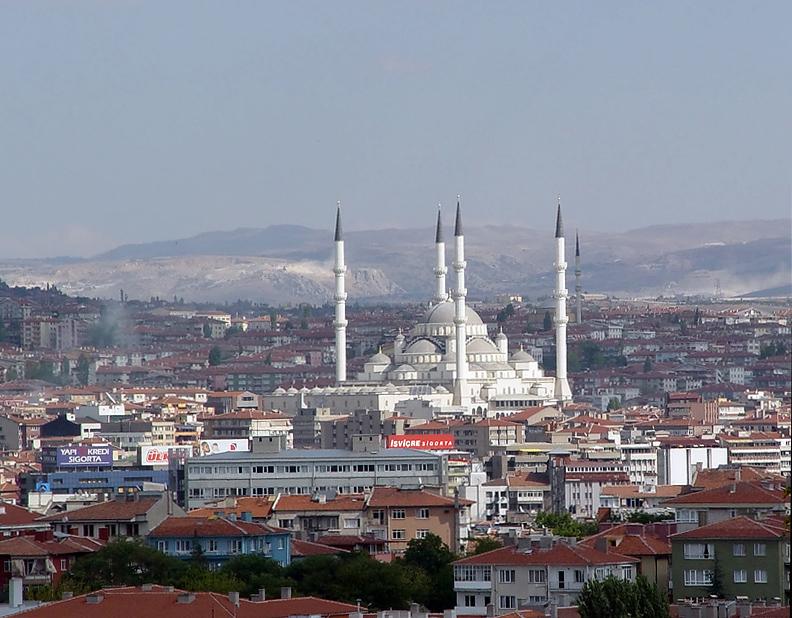 Ankara from Anitkabir