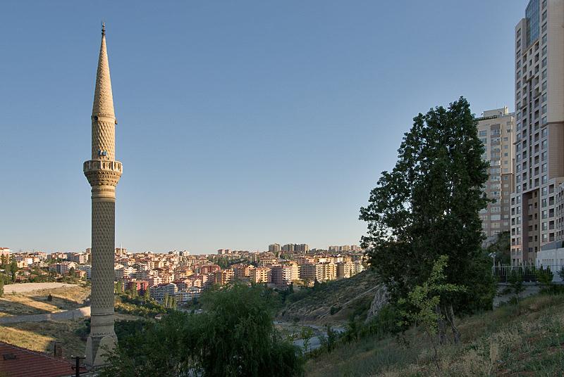 Falling shadows in Birlik Mahallesi