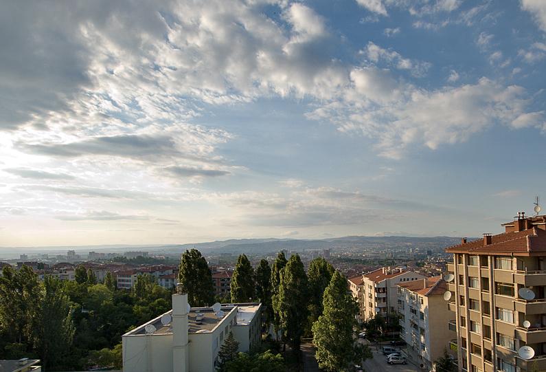 My last balcony view...