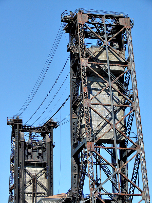 Steel Bridge pulleys