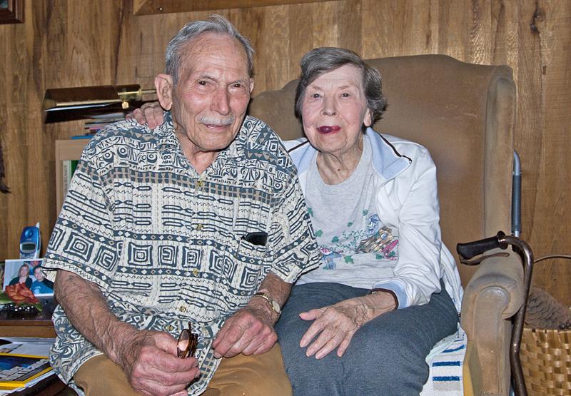 Dad and Roberta