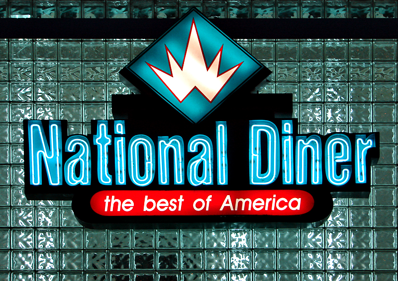 The National Diner (4th place, Neon Challenge)