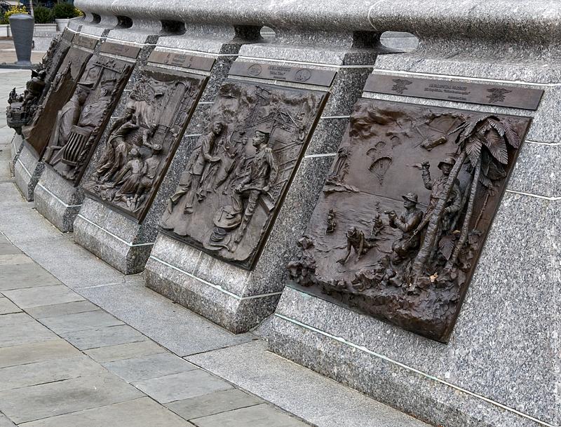 Navy Memorial detail