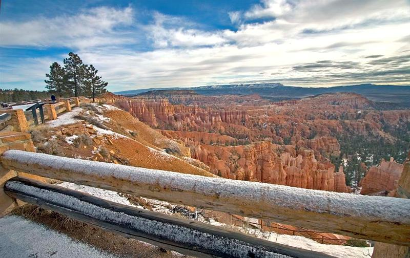 Bryce Canyon in Winter 2